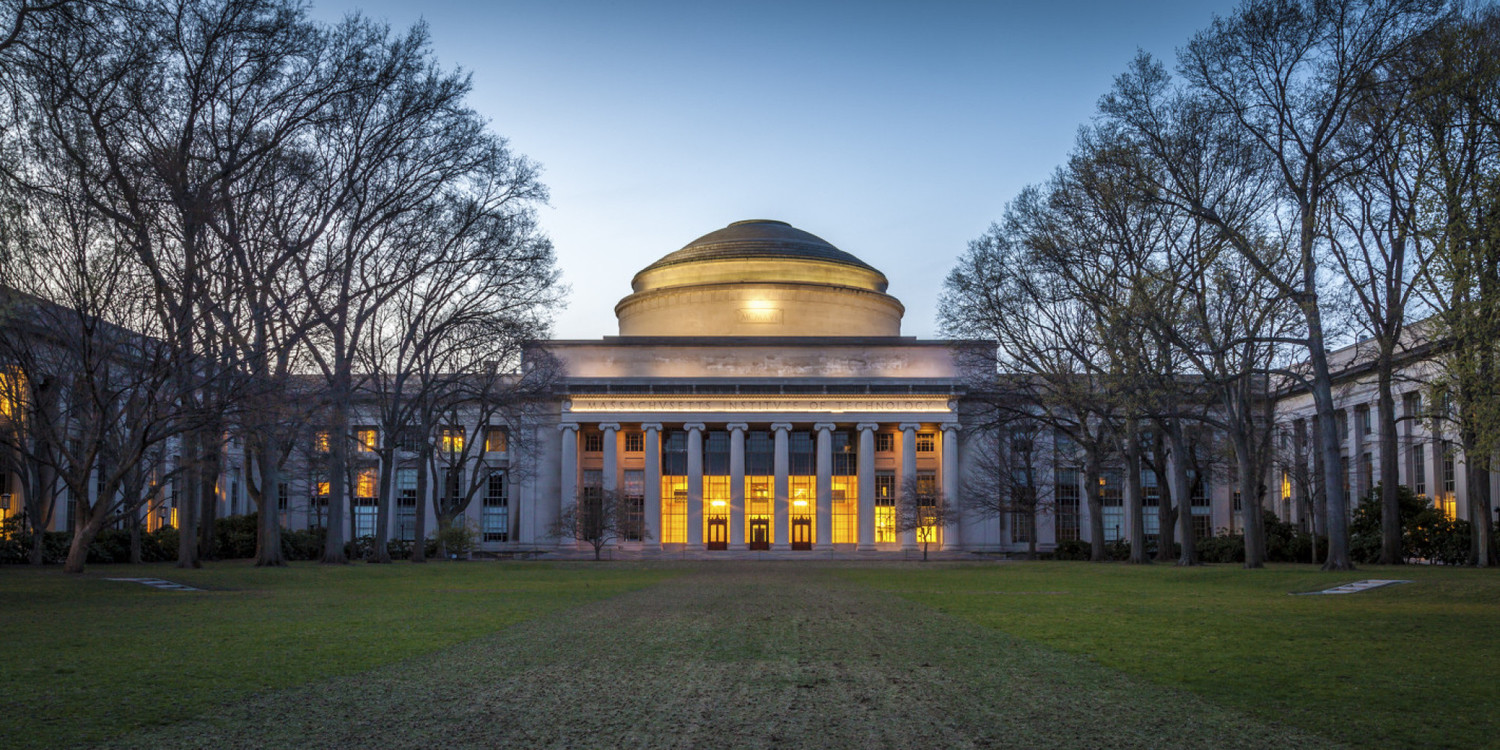 A building on the Massachusetts Institute of Technology Campus.