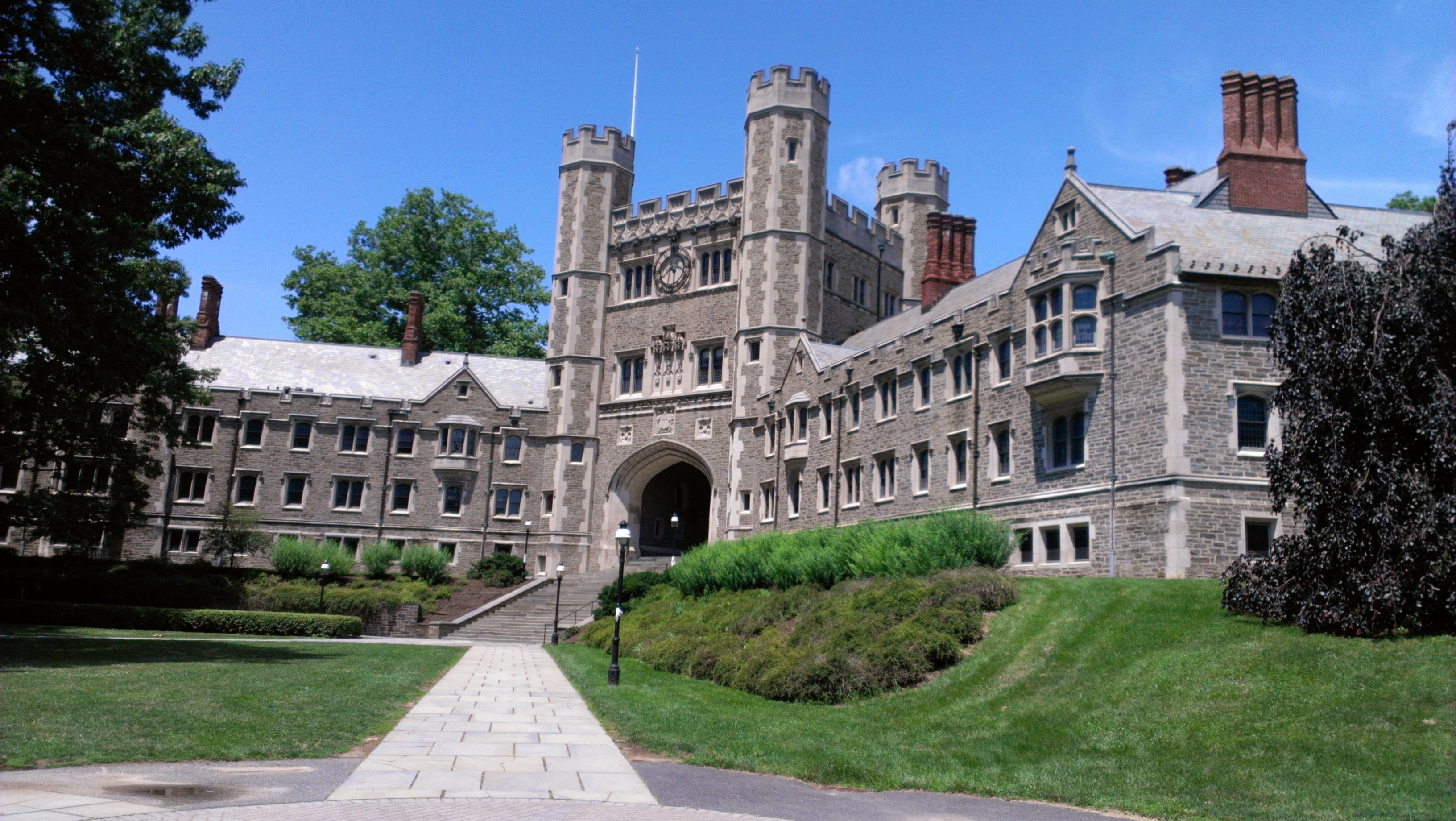 Main building on the Princeton University campus