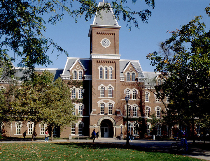 A building on Ohio State University's main campus.