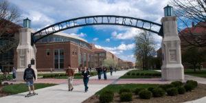 Purdue University's main campus.