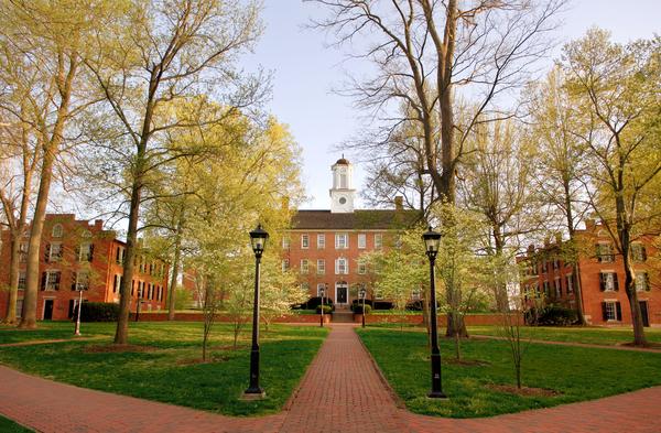 The Ohio University campus.