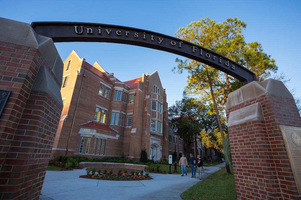 The University of Florida campus.