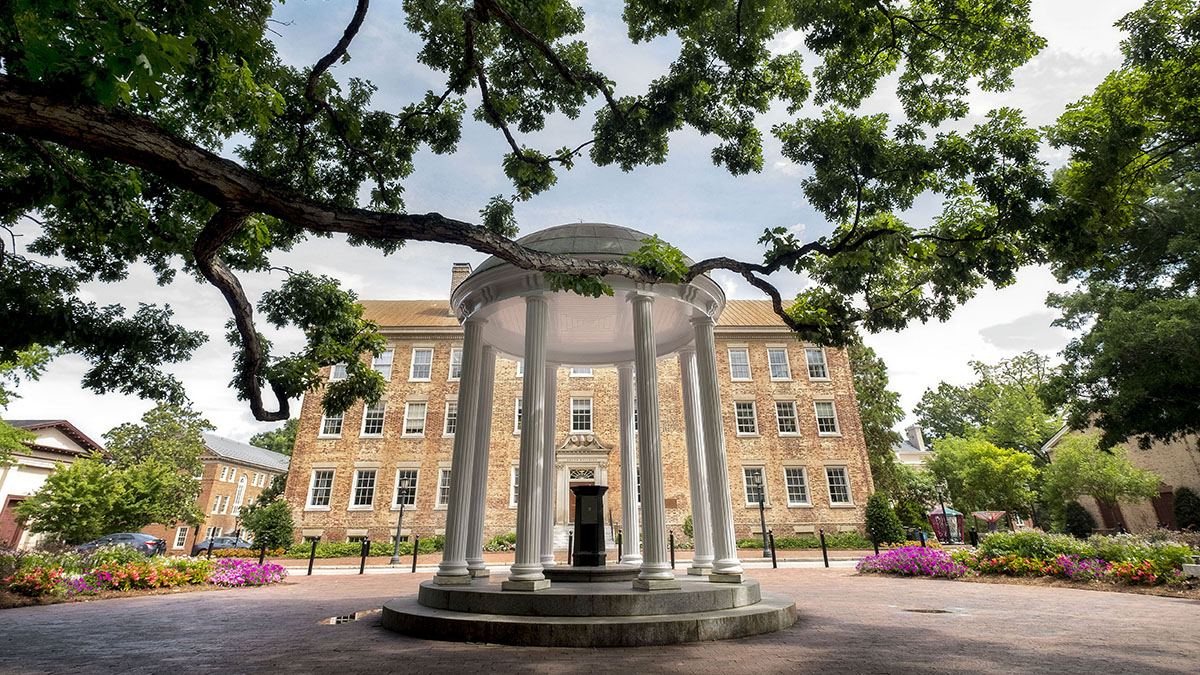 A building on the University of North Carolina campus.