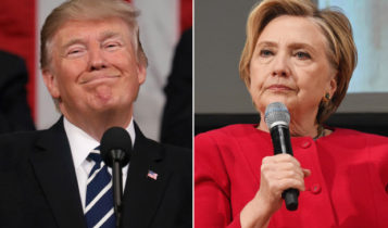 Trump and Hillary Cilnton