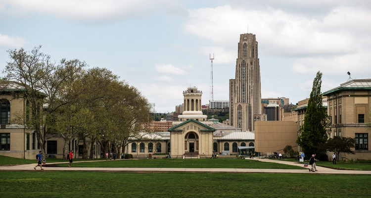A building on the University of Pittsburgh's campus.