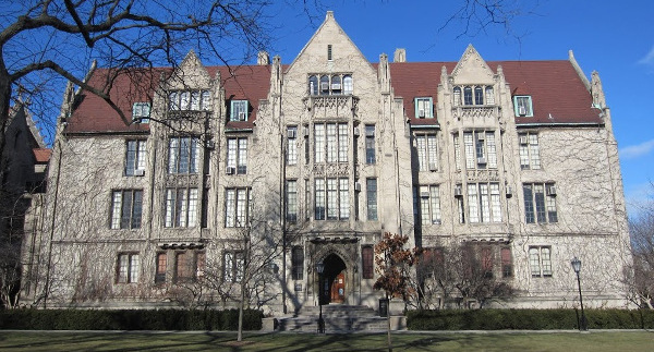 A building on the University of Chicago campus.