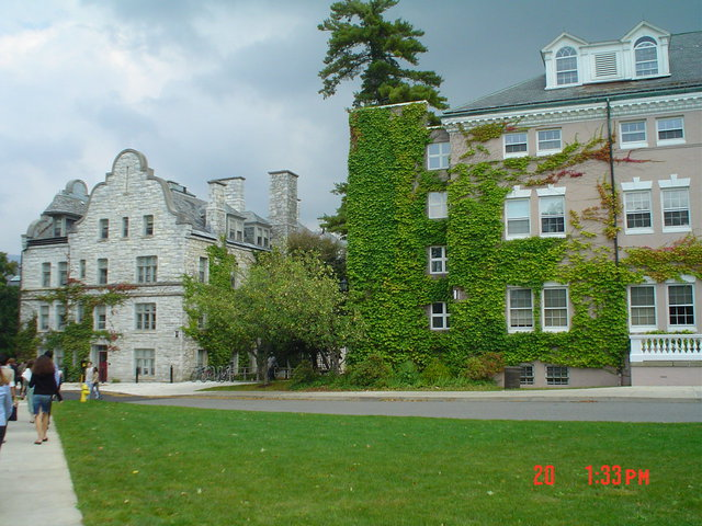 A building on the Williams College campus.