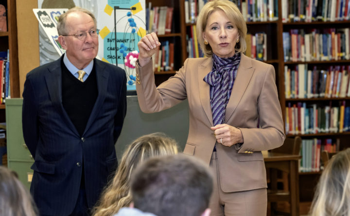 Secretary of Education Betsy DeVos.