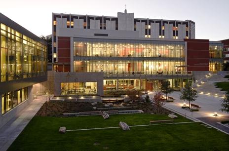 The Seattle University Lemieux Library.