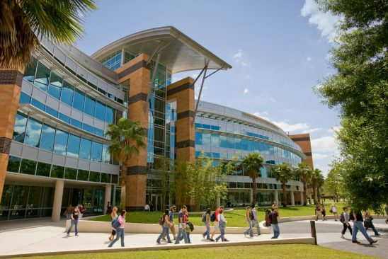 The college of engineering at the University of Central Florida.