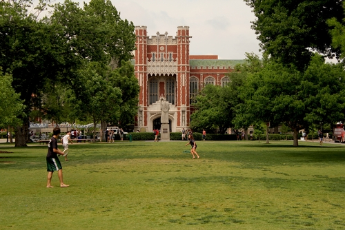 A building on the University of Oklahoma campus.