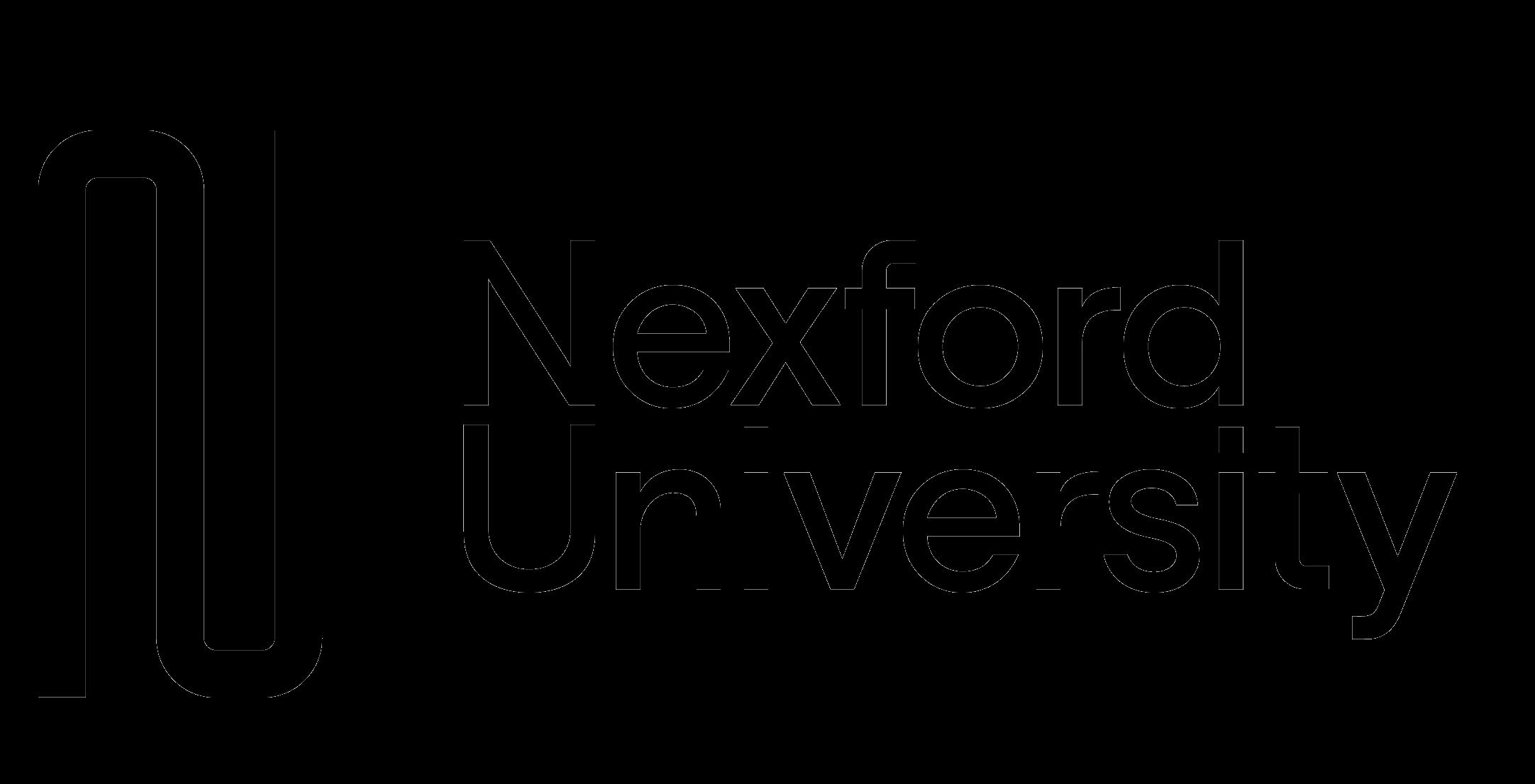 The Nexford University logo.