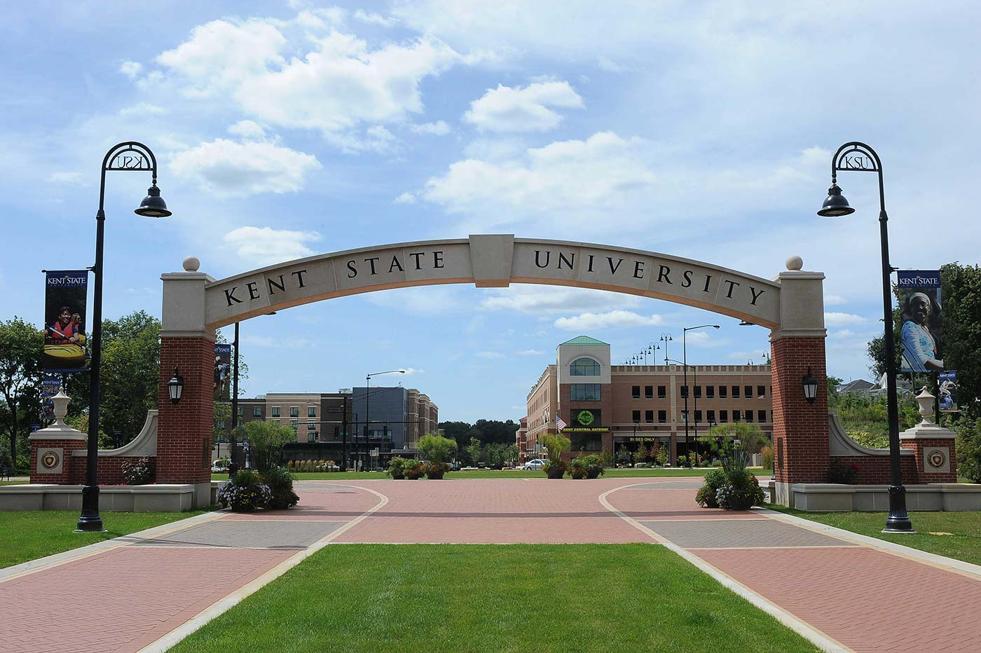The Kent State University campus.