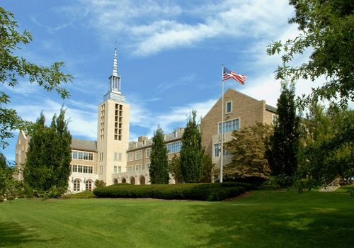 The St. John Fisher College campus.