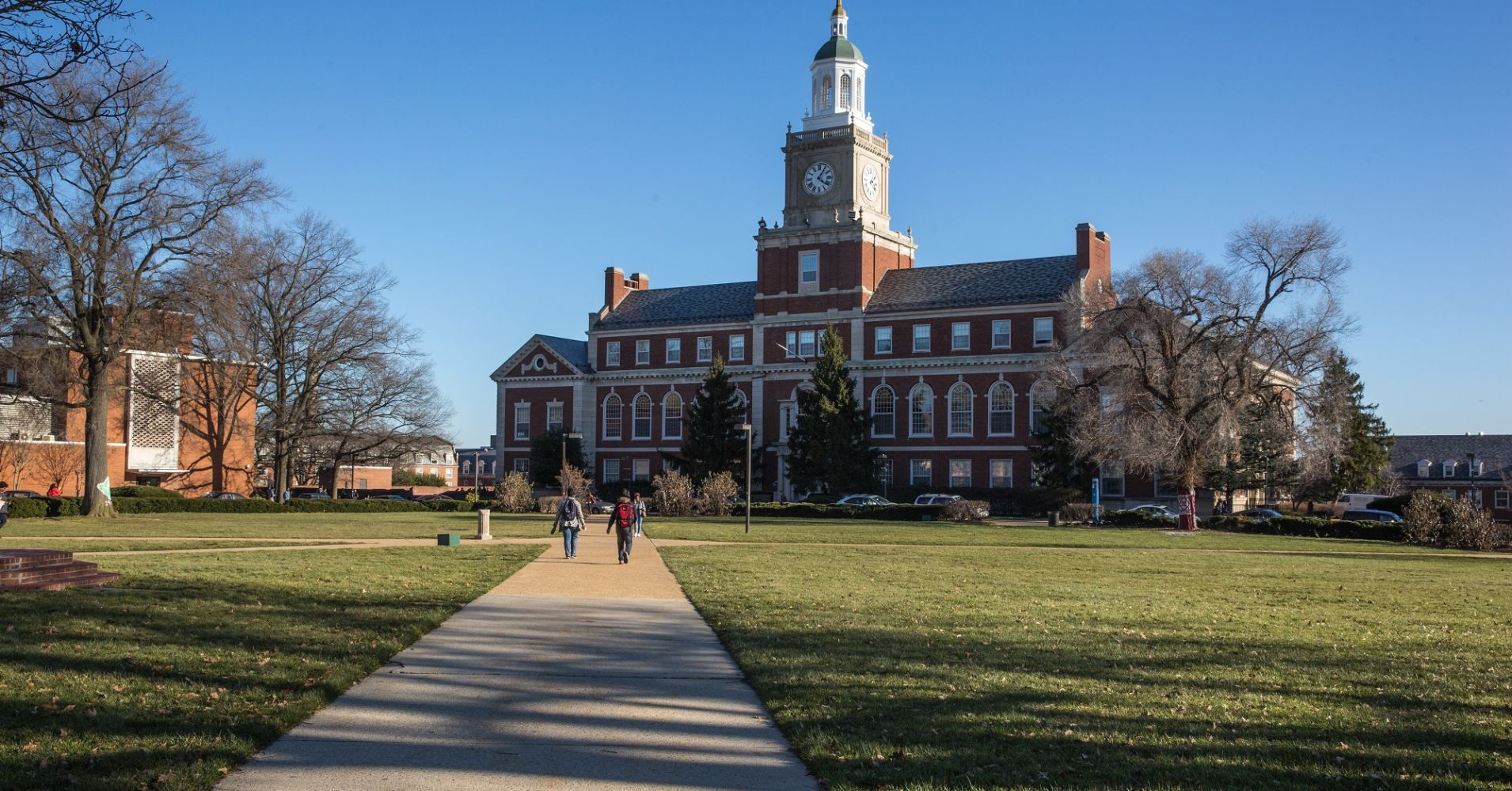 The Howard University Campus.