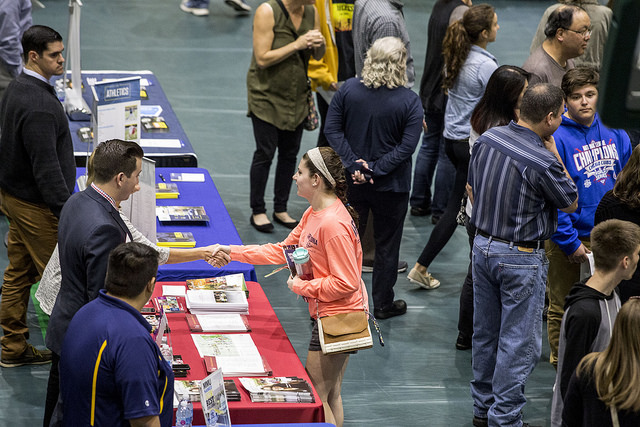 The College of DuPage Hosts its 36th Annual College Fair in 2017.