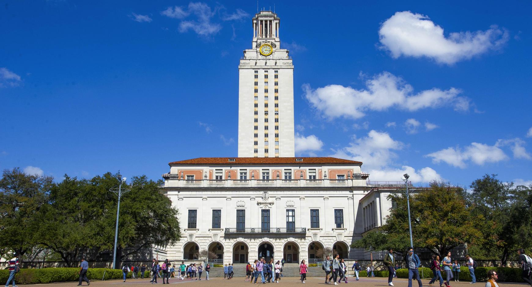 A building on the University of Texas at Austin campus.