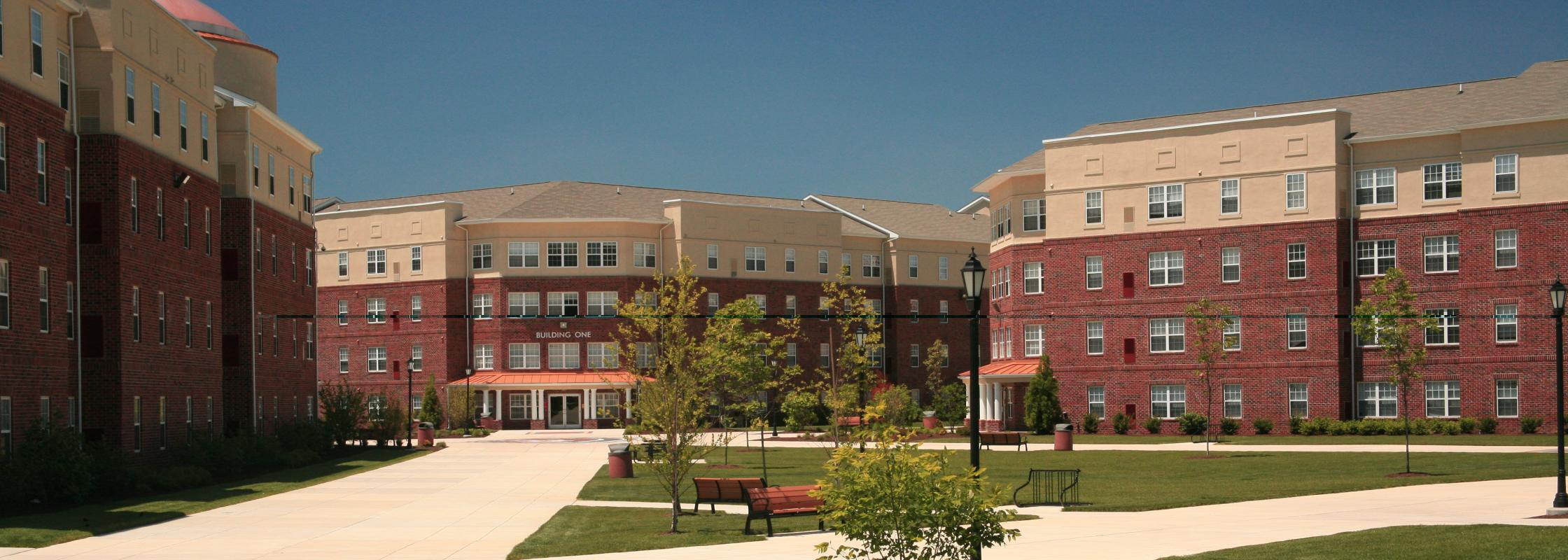 A building on the Delaware State University campus.