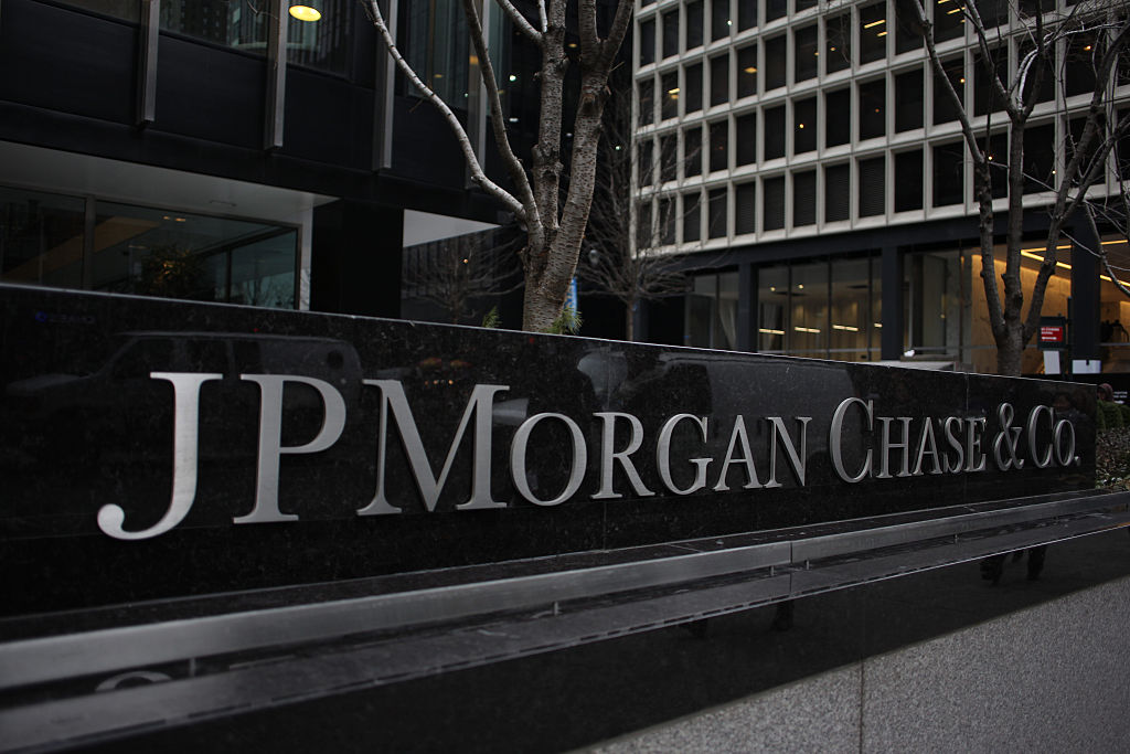 The JP Morgan Chase Tower in Park Avenue, Midtown, Manhattan.