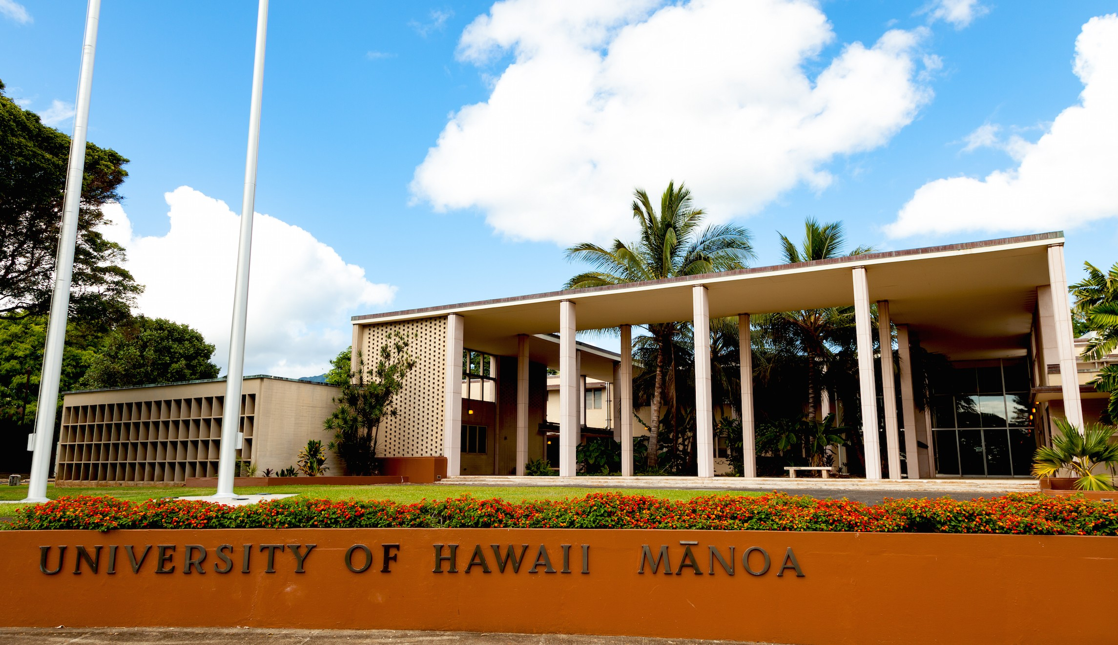 A building on the University of Hawaii-Manoa campus.