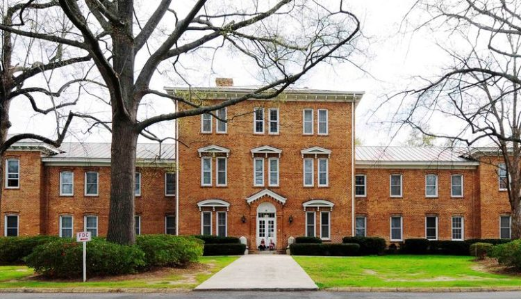 A building on the Newberry College campus.