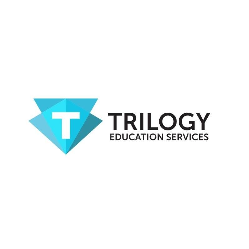 The Trilogy Education logo.