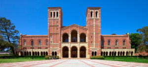 A building on the University of California-Los Angeles campus.