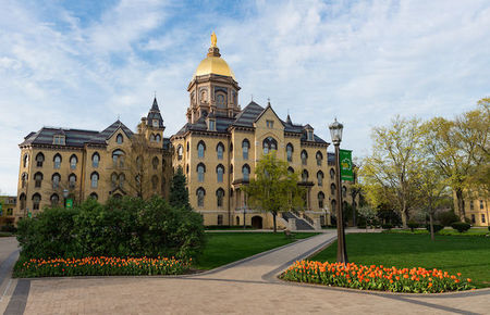 A building on the University of Notre Dame campus.