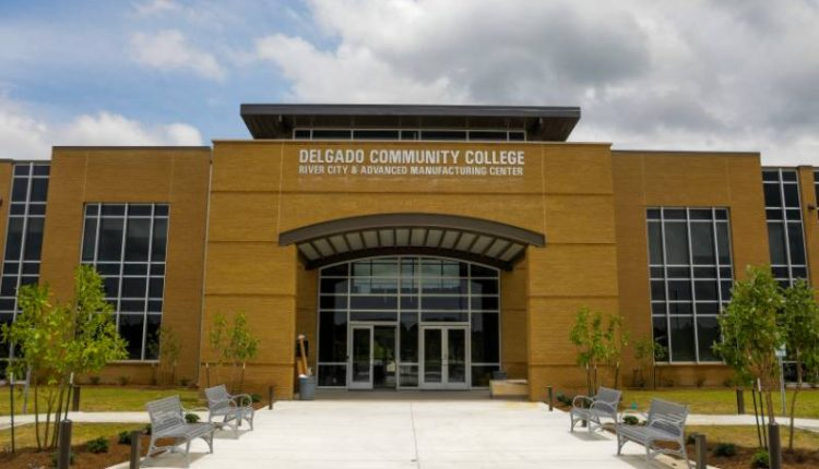 A building on the Delgado Community College campus.