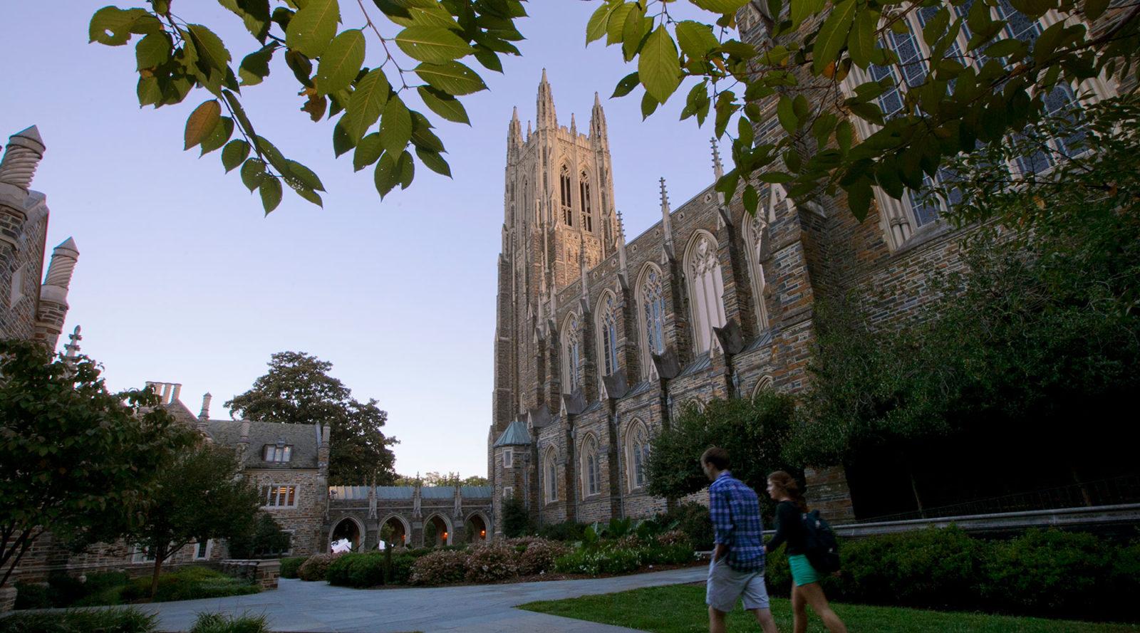 The Duke University Chapel.