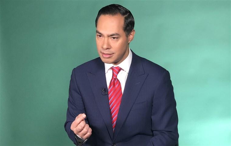 A headshot of Julian Castro.