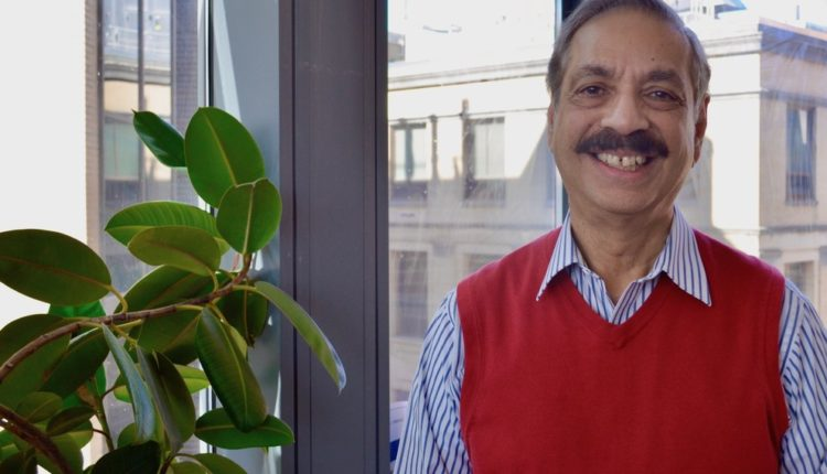 Ayusman Sen, Distinguished Professor of Chemistry.