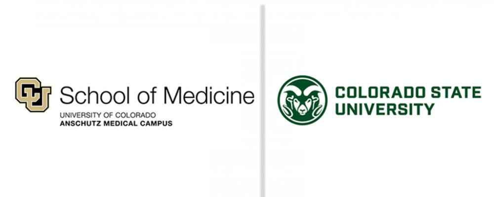 University of Colorado and Colorado State University logos.