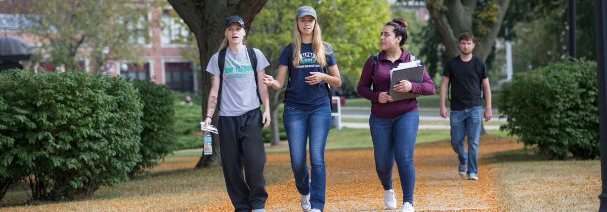 Students at Northern Illinois University