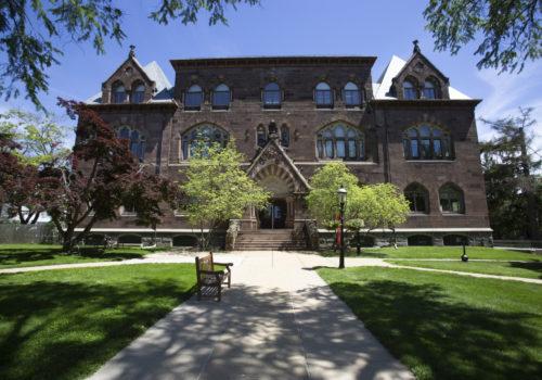 Princeton Seminary Stuart Hall.