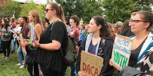 student protest DACA