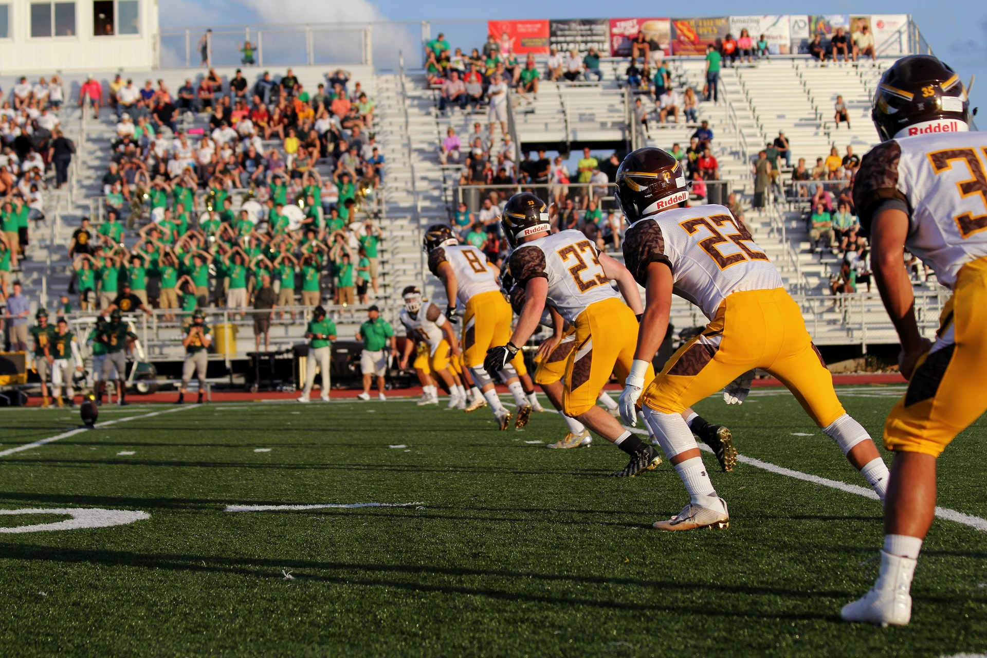 Photo of college football game at JFK Stadium, Springfield, United States