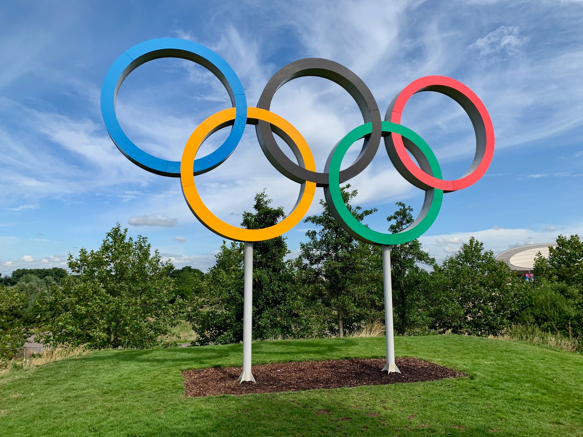 Photo of Olympic rings