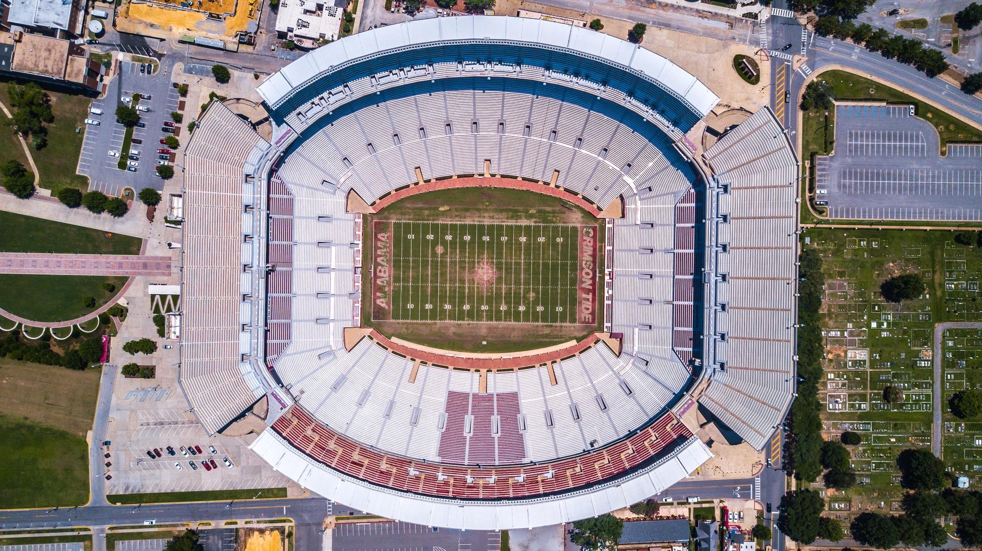 University of Alabama Crimson Tide football stadium