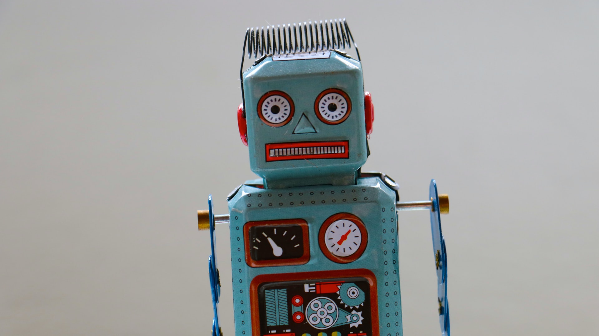 Photo of a toy robot
