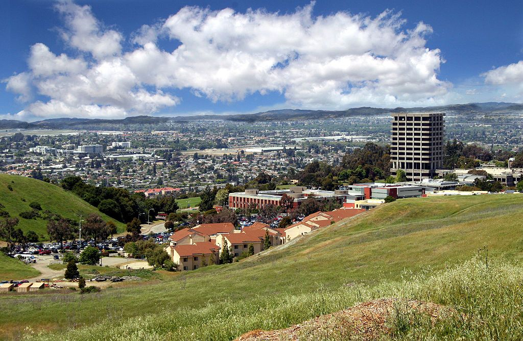 Photo of California State University East Bay view