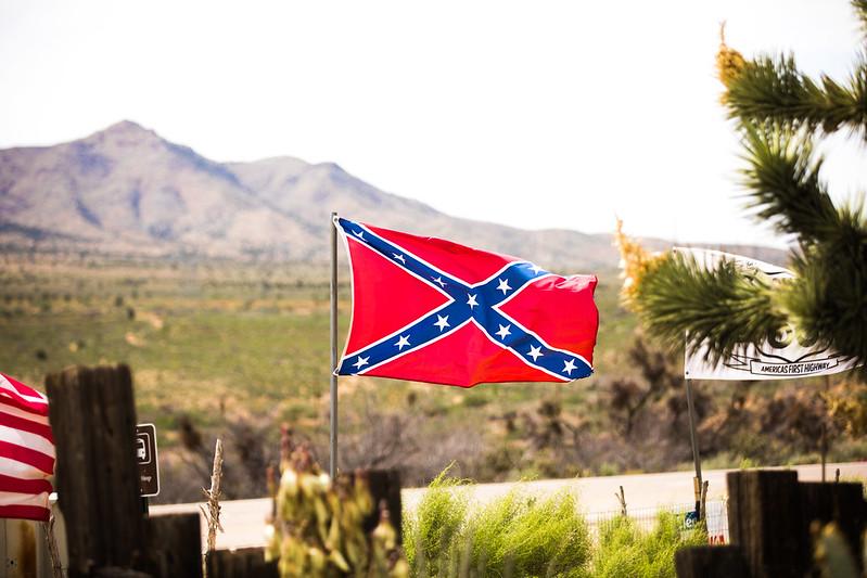 Photo of a confederate flag