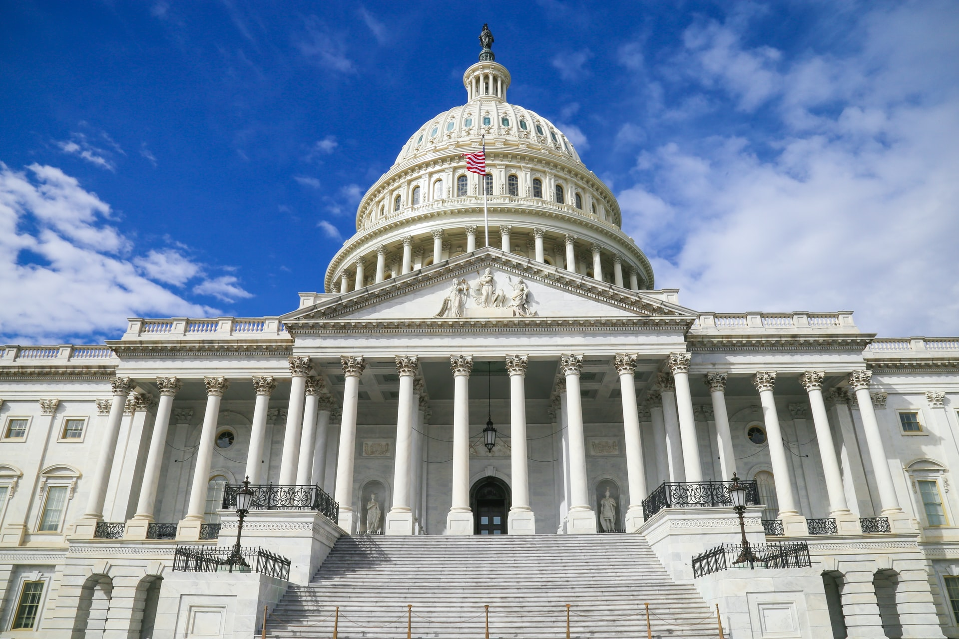 Photo of the US Capitol building in Washington, DC