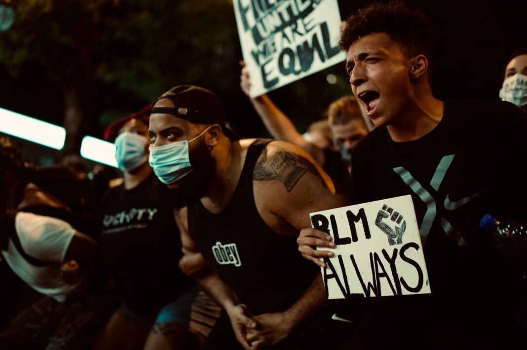 Photo of Black Lives Matter anti-racism protest