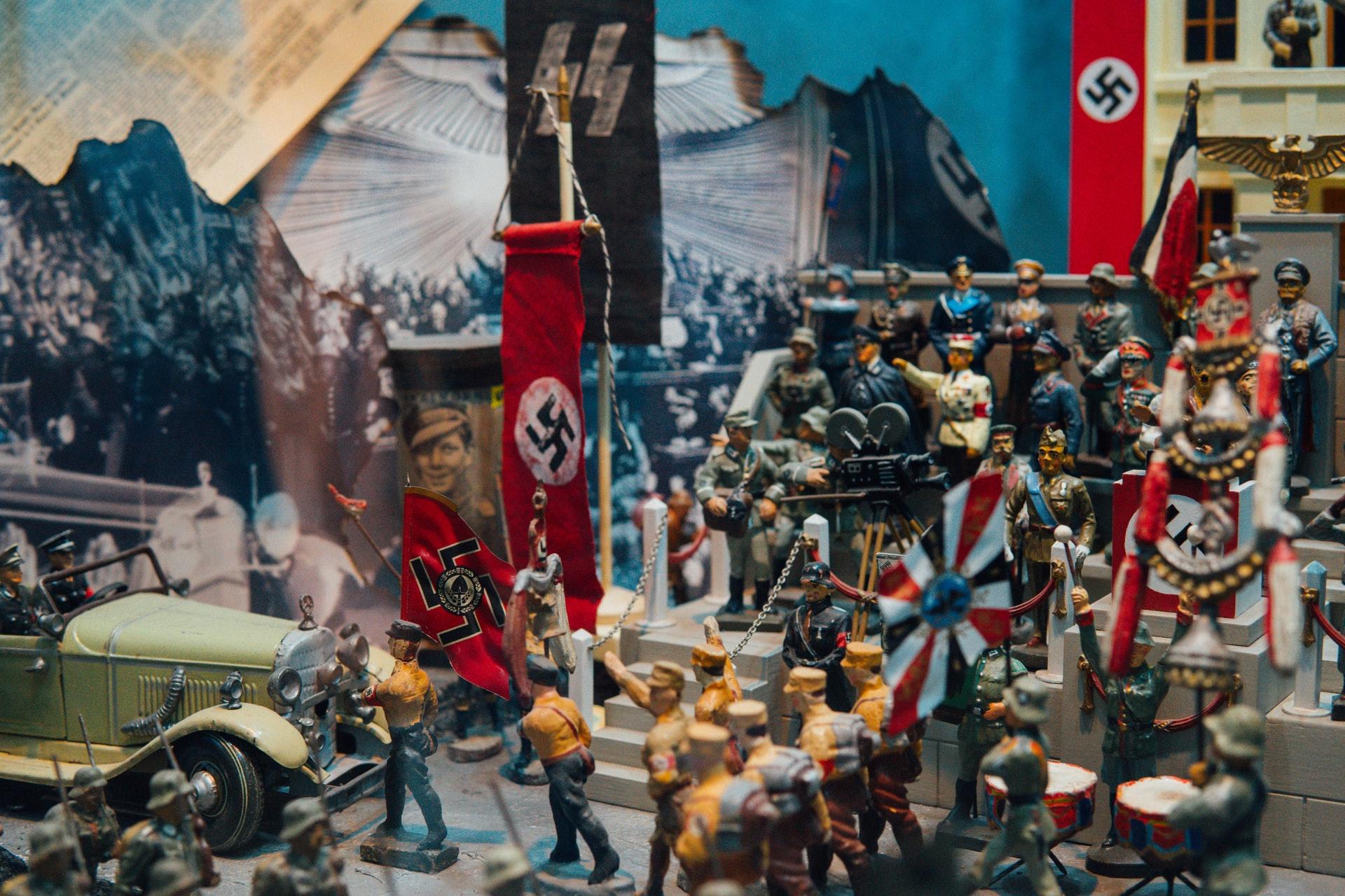 nazi diorama