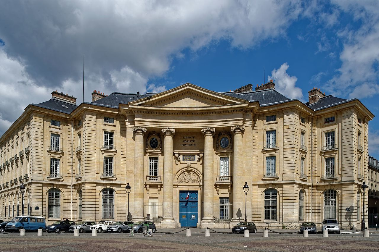 Photo of The Paris Law Faculty, one of the four and eventually five faculties of the University of Paris.