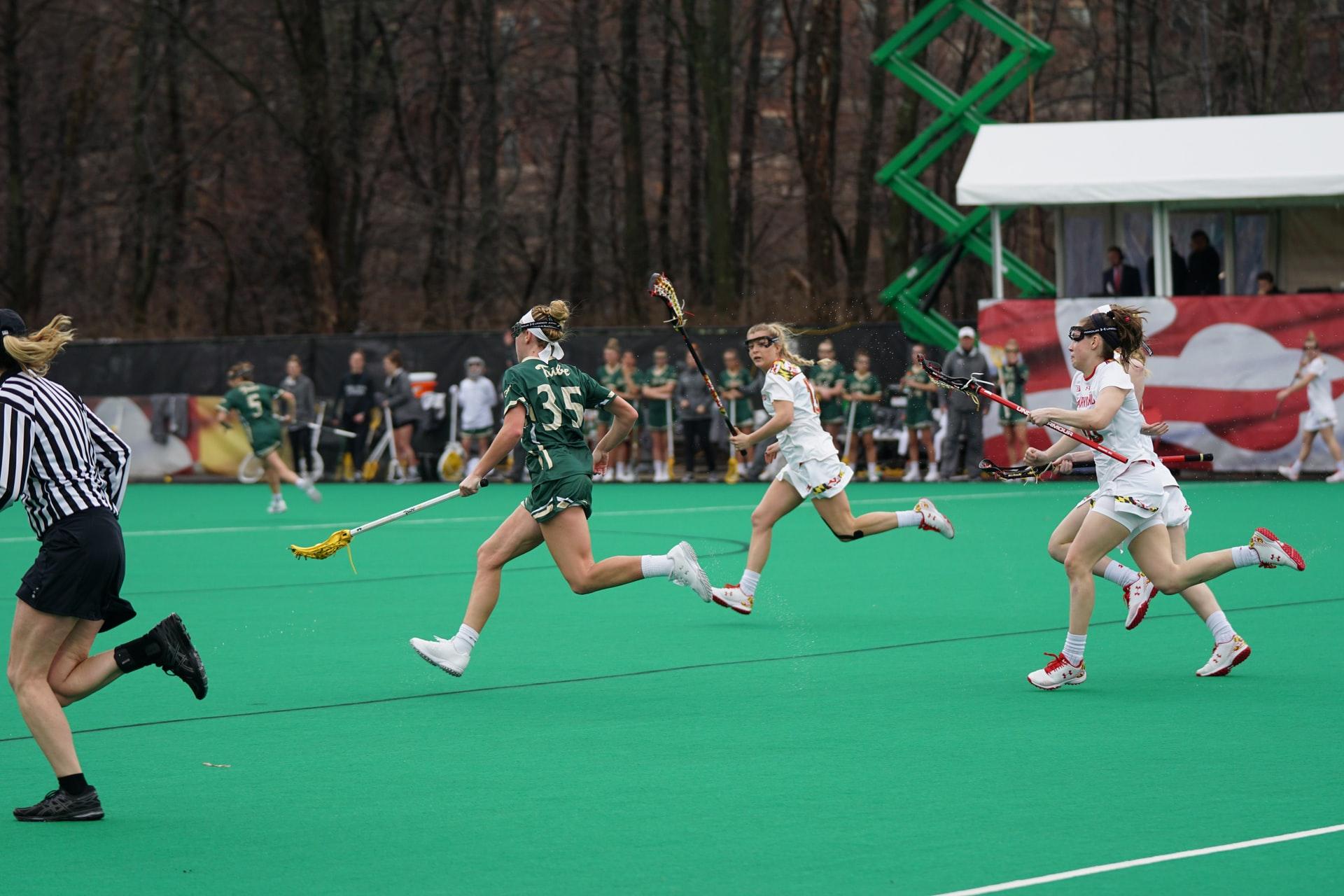 women lacrosse team