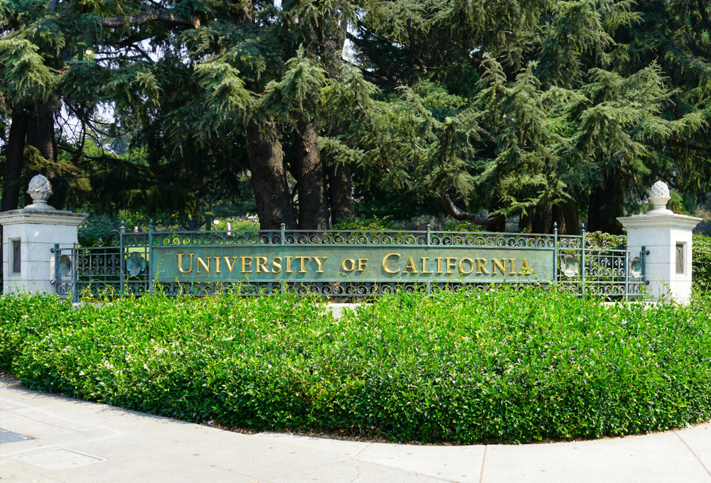 View of the campus of the University of California, Berkeley