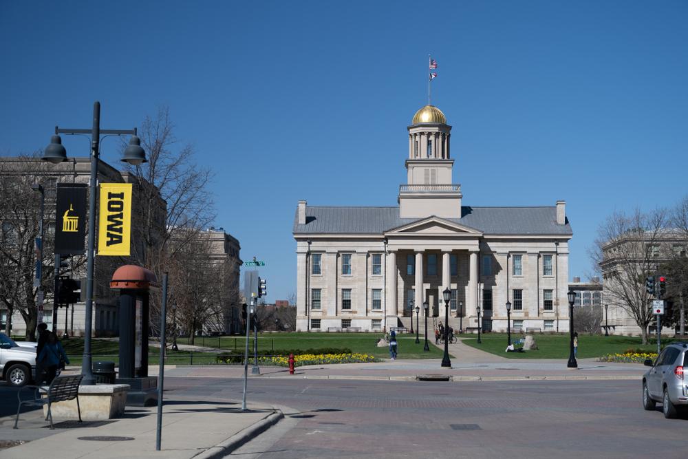 Old Capitol building University of Iowa