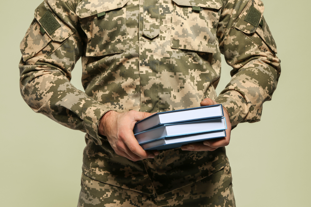 Cadet of military school going to college for free